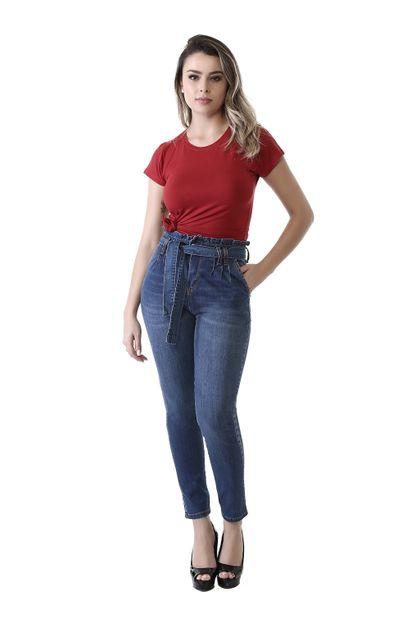 Calça Jeans Feminina Mom - 261586 36