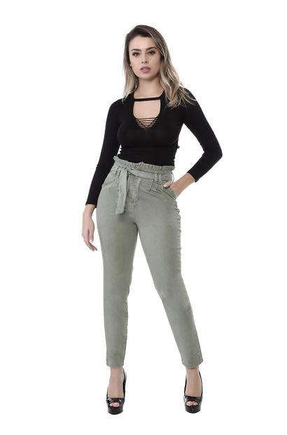 Calça Jeans Feminina Mom - 262159 36