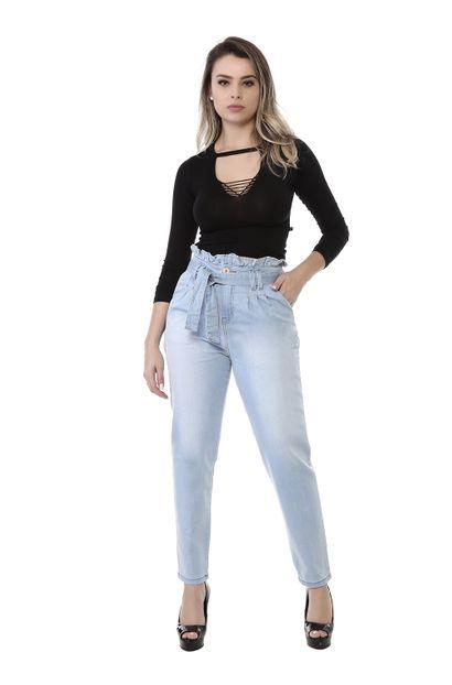 Calça Jeans Feminina Mom - 261643 40