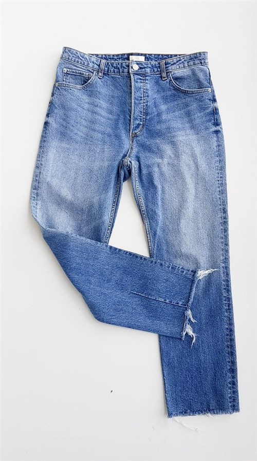 Calça Jeans Feminina Mom H&m (40)