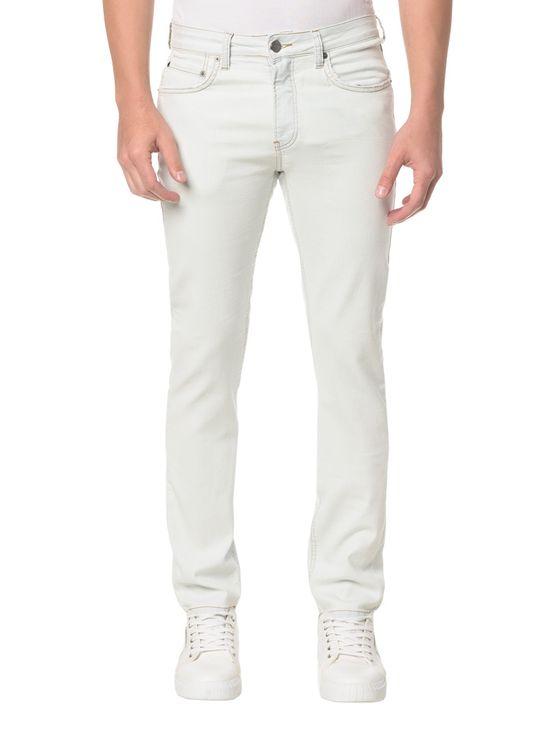 Calça Jeans Five Pockets Slim - 42