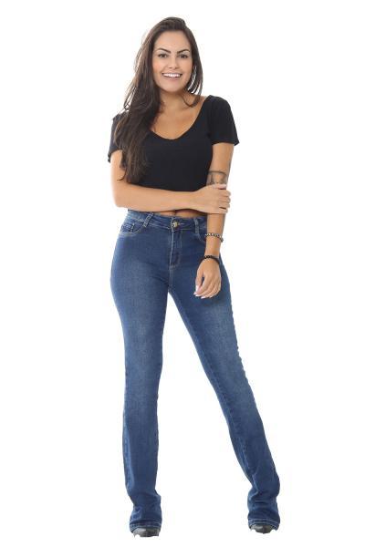 Calça Jeans Flare Boot Cut - 252481 - Sawary