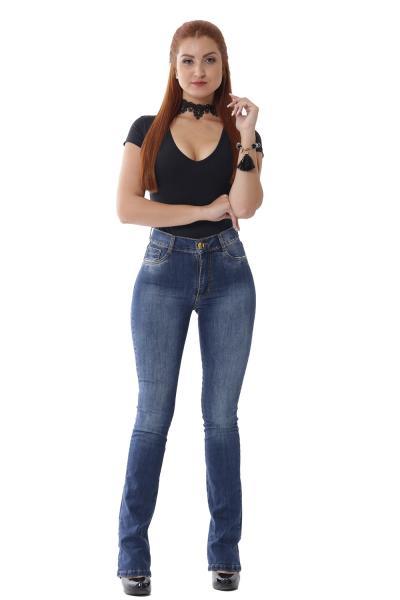 Calça Jeans Flare Boot Cut - 252711 - Sawary