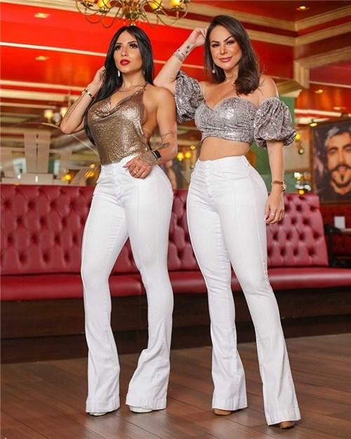Calça Jeans Flare Cintura Alta 2020 (36)