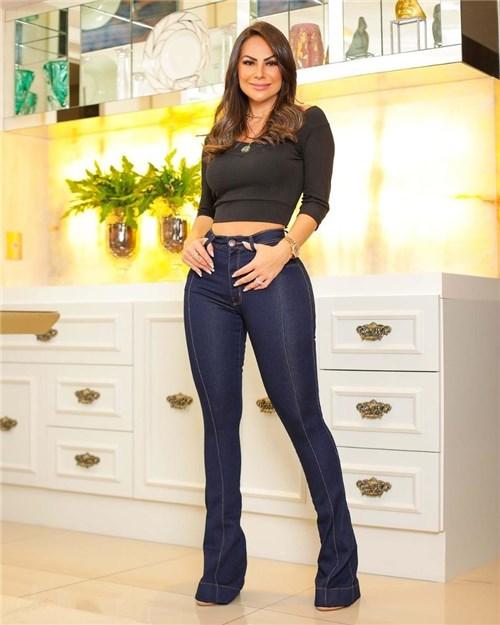 Calça Jeans Flare Cintura Alta 2342 (36)
