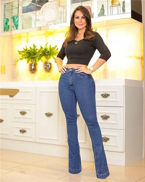 Calça Jeans Flare Cintura Alta 26521 (36)