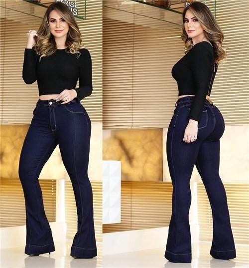 Calça Jeans Flare Cintura Alta (36)
