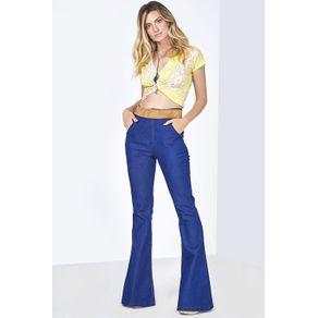 Calça Jeans Flare Cintura Alta - JEANS JEANS - 34