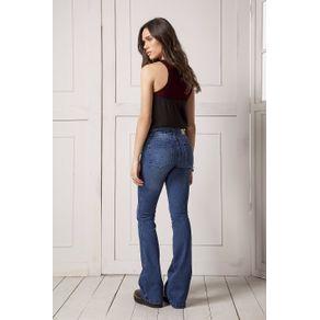Calça Jeans Flare Cintura Alta Unica - 34