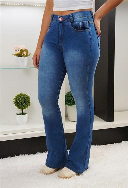 Calça Jeans Flare Escura MC / 34