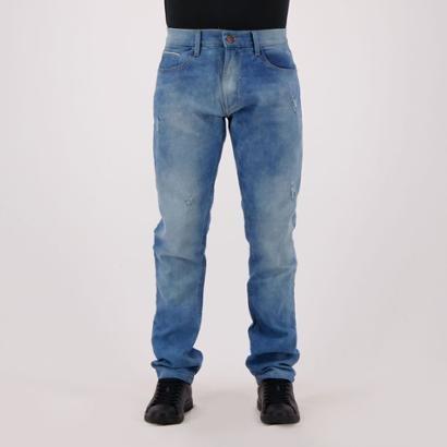 Calça Jeans HD Estonada Slim Masculina