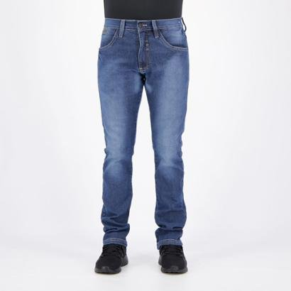 Calça Jeans HD Slim Stonada Masculina