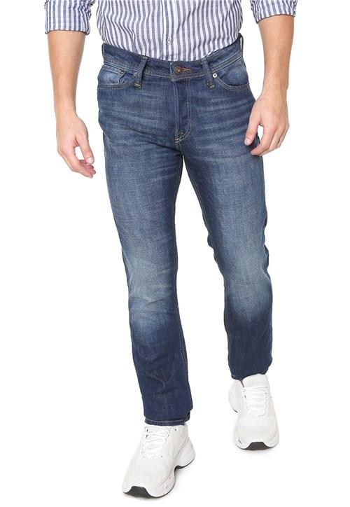 Calça Jeans Jack & Jones Slim Tim Azul