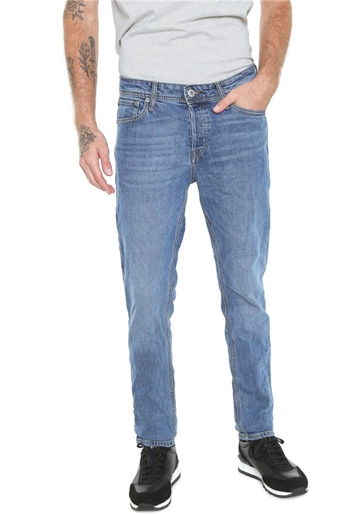 Calça Jeans Jack & Jones Slim Wov Azul