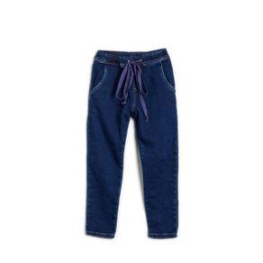 Tudo sobre 'Calca Jeans Jogger Cordao Jeans Medio - 6'