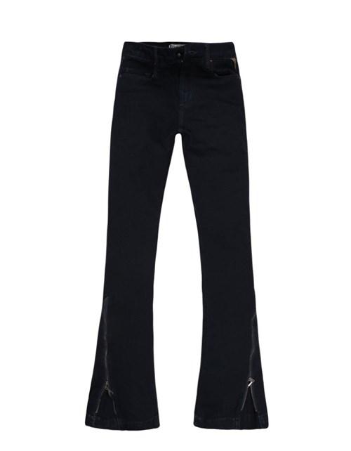 Calça Jeans Khelf Flare Cintura Alta Jeans