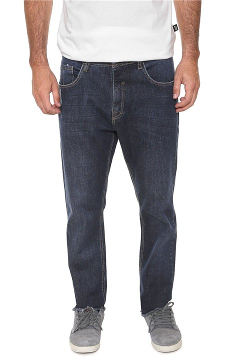 Calça Jeans ...Lost Slim Jcustomize Azul