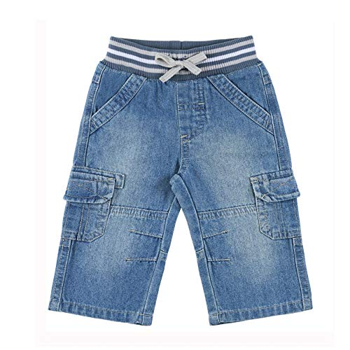 Calça Jeans Menino Bebê AZUL JEANS G