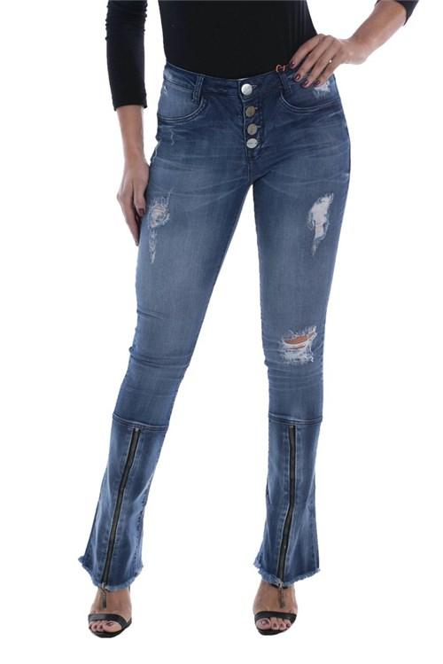 Calça Jeans Osmoze Boot Cut Azul (Azul, 34)