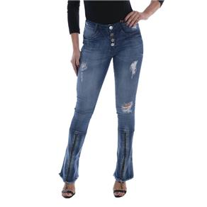 Calça Jeans Osmoze Boot Cut Azul - Azul Royal - 36