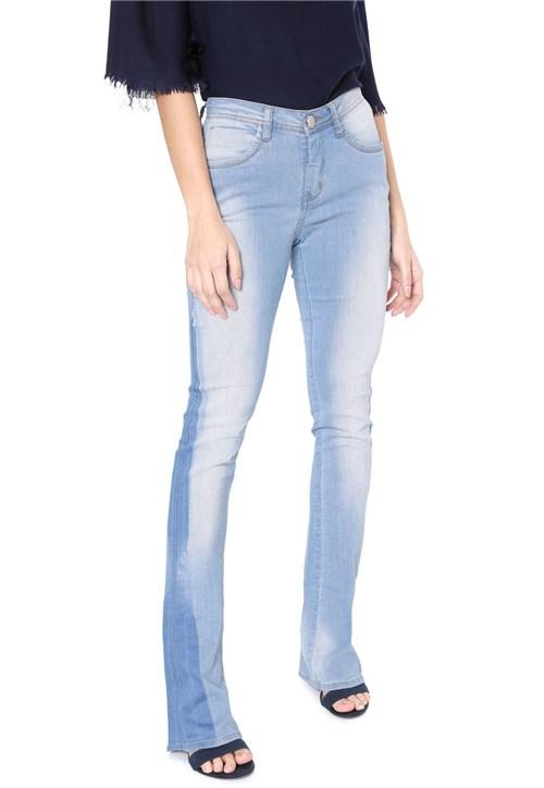 Calça Jeans Osmoze Bootcut Estonada Azul