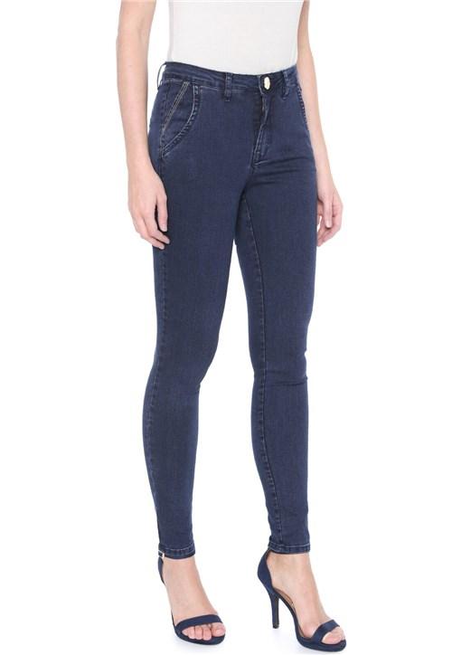 Calça Jeans Osmoze Chino Básica Azul
