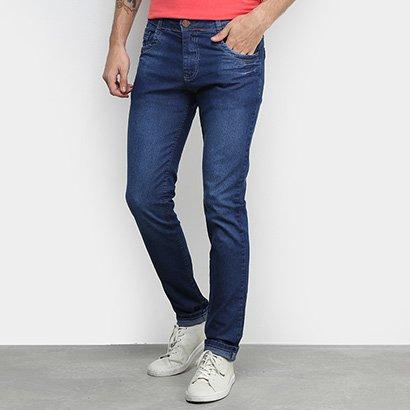 Calça Jeans Slim Coffe Masculina