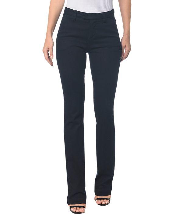 Tudo sobre 'Calca Jeans Slim Flare Bolso Faca - 36'