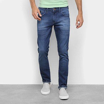 Calça Jeans Slim Triton Gilson Masculina