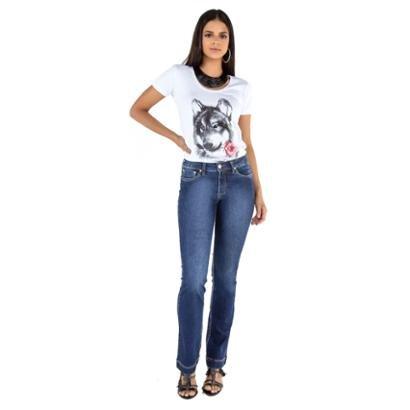 Calça Jeans Tradicional Boot Cut Feminina