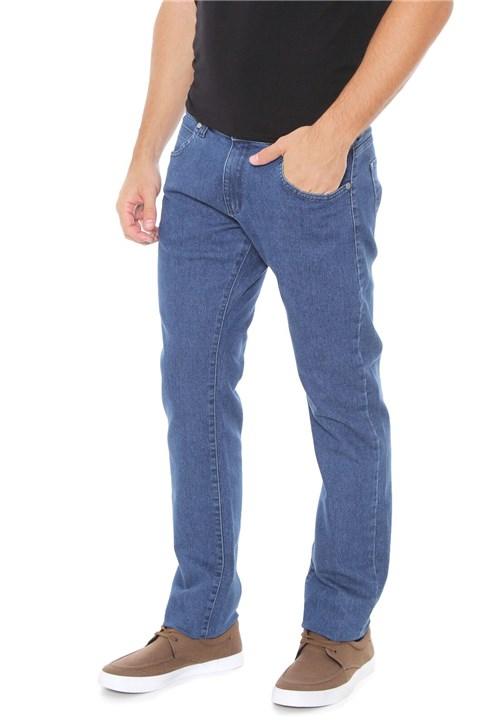 Calça Jeans Wrangler Slim Larstorm Azul