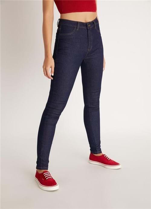 Calça Jegging Cintura Alta Jeans 36