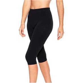 Calça Legging Corsário para Academia Fitness Feminina Lupo 71578 - PRETO - EG