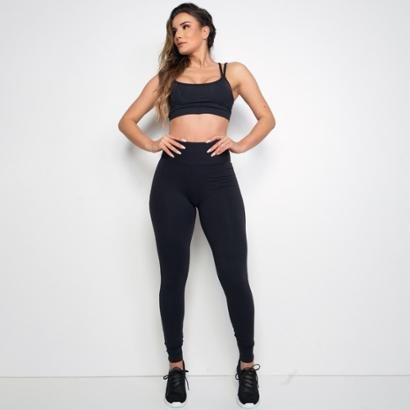 Calça Legging Fitness Poliamida Honey Feminina