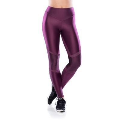 Calça Legging Fitness Run Geo Feminina