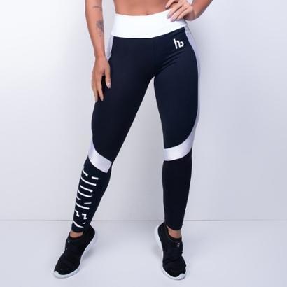 Calça Legging Fitness Textura Impact Feminino