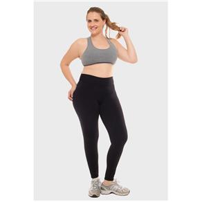Calça Legging Lisa Fitness - 46 - Preto