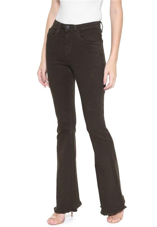 Tudo sobre 'Calça Sarja Calvin Klein Jeans Flare Color Verde'