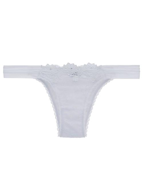 Calcinha Biquini White Dahlia Branco P