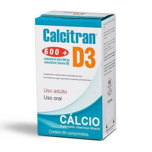 Tudo sobre 'Calcitran D3 com 60 Comprimidos'