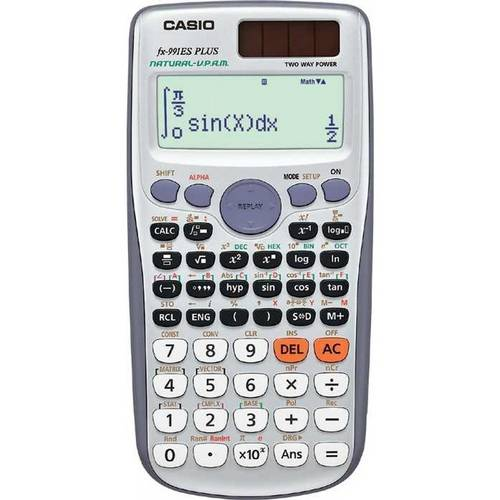 Tudo sobre 'Calculadora Casio Digital Científica Fx-991es Plus'