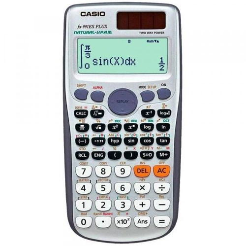 Tudo sobre 'Calculadora Casio Digital Científica Fx-991es Plus'