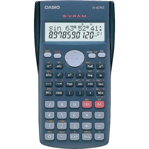 Tudo sobre 'Calculadora Científica Casio FX82 MS'