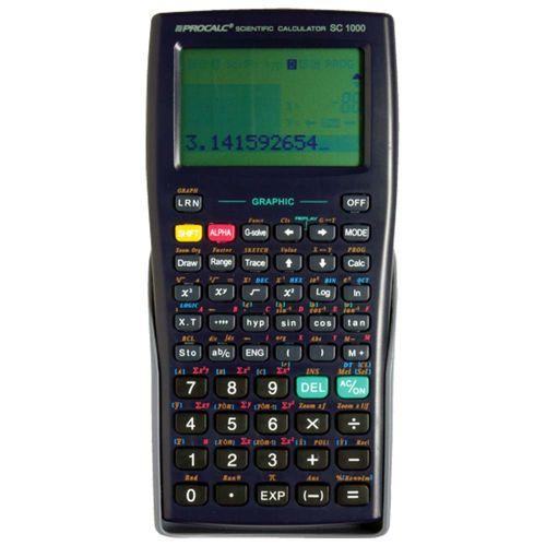 Tudo sobre 'Calculadora Científica Gráfica Procalc SC1000 1028591'