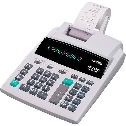 Tudo sobre 'Calculadora com Bobina Branca 220V - Casio'