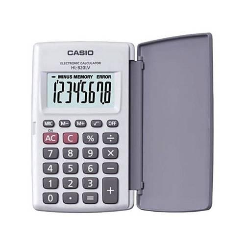 Tudo sobre 'Calculadora de Bolso com Visor Xl, 8 Dígitos e Desligamento Automático - Casio'
