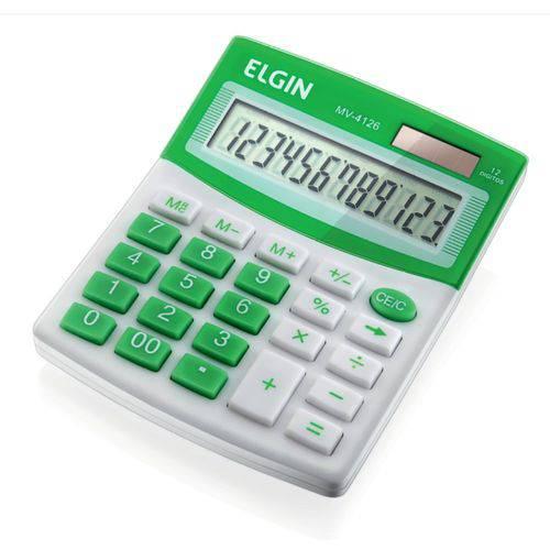 Calculadora Mesa Verde Mv4127 Elgin