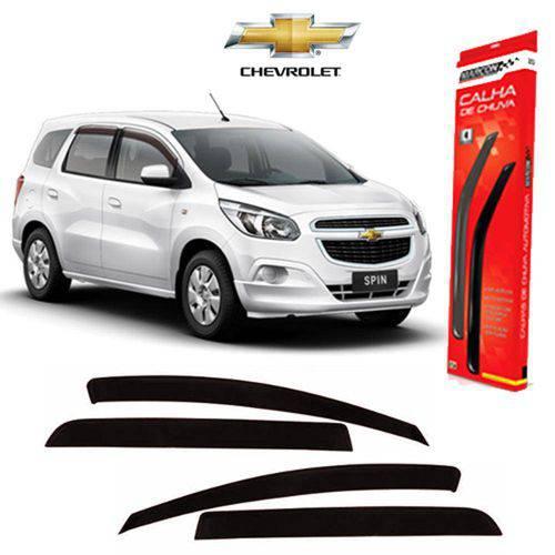 Tudo sobre 'Calha de Chuva Fume Claro Chevrolet Spin - 4 Portas'