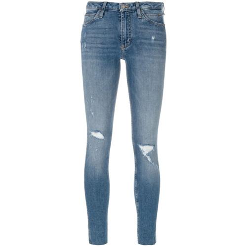 Tudo sobre 'Calvin Klein Jeans Calça Jeans Slim Fit - Azul'