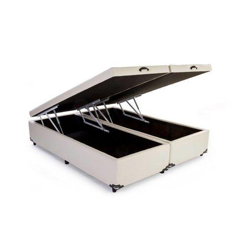 Cama Box Bau Casal Bipartido 138 X 188